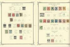 Danish West Indies 1855 to 1917 Collection on Scott Specialty Pages