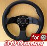 300mm VOLANT Tuning Noir pour VW Transporter T3 T4 T25 T5 Caravelle New Beetle