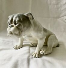 Old Large English Bulldog Figurine- rare size, 3905, Germany, G. Heubach (5I1)