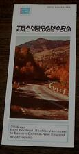 TransCanada Fall Foliage Tour, 1970 Vintage Informational Tour Pamphlet