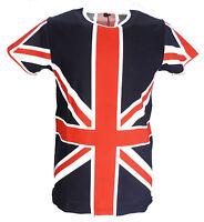 Relco Union Jack Retro 100% Cotton T shirts