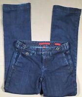 Banana Republic Womens Trouser Jean Size 26 / 2 Dark Denim
