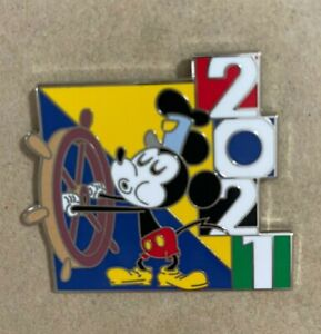 Disney Pin 2021 Mystery Box Steamboat Willie Mickey Mouse