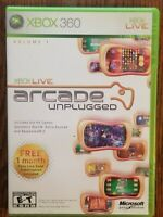 XBOX Live Arcade Unplugged XBOX 360 Video Game from Microsoft Game Studios