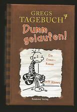 GREGS Tagebuch 7. Dumm gelaufen! Comic-Roman von Jeff Kinney.Gebundenes Buch