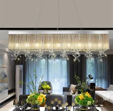 Crystal Living Room Chandelier Modern Dining Room Ceiling Lamp Light Fixtures T
