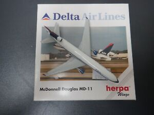 Herpa Wings 1:500 McDonnell Douglas MD-11 Delta Air Lines 1998 503327 EXC #860