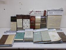% 12 Michaels Textiles Sample Swatch Fabric book Carole Kaslen Hang Sang assort