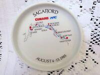ROSENTHAL CUNARD SAGAFJORD WINE COASTER~AUGUST 4-15, 1985 ALASKA CRUISE