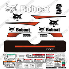 Bobcat T770 Compact Track Loader Decal Kit Skid Steer (Curved Stripes)