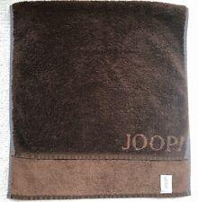 Joop! Handtuch 50 x 100 cm Doubleface Schoko-Braun unifarben, TOP!
