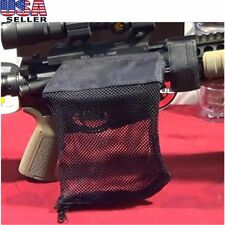 New Practical AR Brass Shell Catcher Trap Mesh Bag Capture Black For Hunting AS