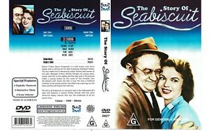 THE STORY OF SEA BISCUIT DVD - SHIRLEY TEMPLE FREE FAST SHIPPING AND TRACKING