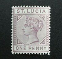 St. Lucia #28 Mint Hinged (M8U1) WDWPhilatelic