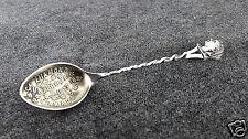 Queen Elizabeth Diamond Jubilee Canada Sterling Silver Souvenir Spoon - SL