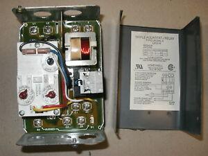 Honeywell L8124C Triple Aquastat High / Low Limit Oil Burner Relay Control