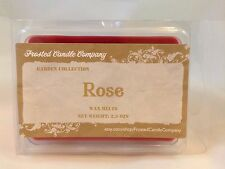 Rose 2.5oz Soy Wax Melts Scent Fresh Floral Spring One Package