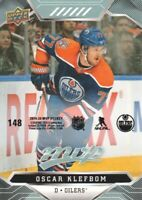 2019-20 Upper Deck MVP Hockey Puzzle Back Parallel #148 Oscar Klefbom