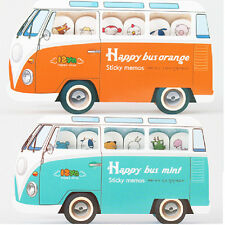 1pc Happy Bus w/ Animal Sticky Post it Bookmark Sticky Note Pad Flags Index Memo