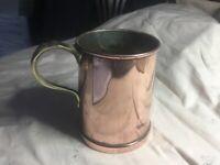 Vintage copper & Brass Tankerd arts &Crafts