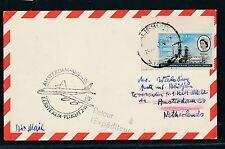 06685) KLM FF Amsterdam - Abidjan 2.11.63, Karte ab Rhodesien RR!! mining