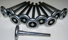 10 X  iron rollers GARAGE DOOR ROLLER WHEEL BALL BEARING PANEL LIFT door repair