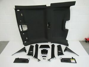 BMW F22 2 SERIES COUPE M SPORT BLACK ROOF LINING / HEADLINING KIT COMPLETE