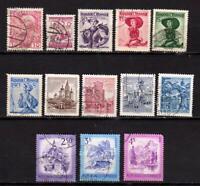 Autriche - Depuis 1908 - Petite collection - 13 timbres oblitérés