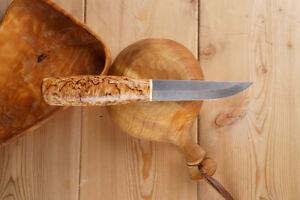 Russisches Messer aus Zladinox Damast, Jagdmesser Nord Crown -- Matti