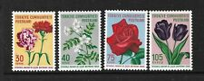 1960 Stamps of Turkey Flowers. MNH** (Lot C201)