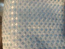 Blue geometric shape Shower Curtain great shape