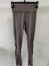Carbon38  Plum Color Cable Knit leggings  Beige  XS