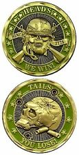 Heads We Win! / Tails You Lose! - Challenge Coin 2464