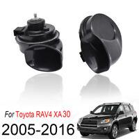 Loud Waterproof Snail Horn For Toyota RAV4 XA30 2005-2016 410/510Hz Dual Tone
