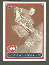 1993 OPC Fanfest Puck Canadiens' Doug Harvey