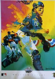 Ivan Rodriguez Artwork Print Poster 30x22