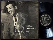 GENE KRUPA Sextet Album #3 LP CLEF RECORDS MG C-631 US 1954 DG MONO Teddy Wilson