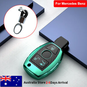 TPU Remote Key Cover Case Fob Holder For Mercedes Benz A B C E S G Class Green