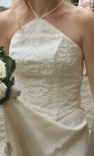Brautkleid zweiteilig Creme Gr. 38