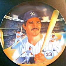 "Ny Yankee Don Mattingly ""Player Of The Year"" 10"" Collector Plate 1987"