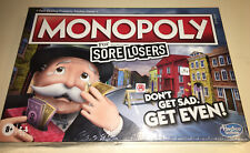 Monopoly For Sore Losers~Board Game Collect Sore Loser Coins~BRAND NEW, SEALED