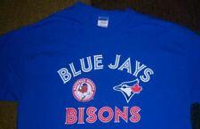 RARE STYLE Authentic BUFFALO BISONS/Toronto Blue Jays Shirt L/Large jersey