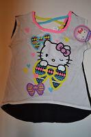 Hello Kitty  Girls Cross Back Top   Size XS 4/5  S 6/6X M 7 /8 L10/12  NWT
