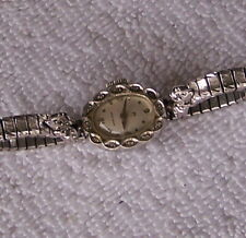 Vintage Womens Hamilton Rhapsody 17 Jewel Diamond Watch.