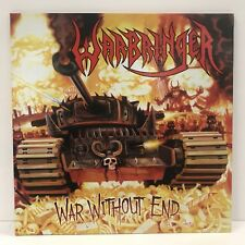 SIGNED Warbringer - War Without End Gatefold LP Jacket, Original Press Red Patch
