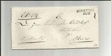 Preussen V / HORSTMAR 26/12 L2 auf DS-Brief ca. 1830 n. Rheine