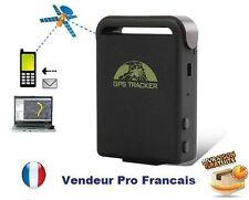 Traceur GPS Portable Télé Secours SOS / Micro Espion GSM Carte SIM Alarme Neuf