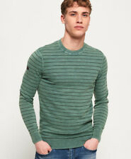 Superdry Mens L.A. Stripe Crew Jumper