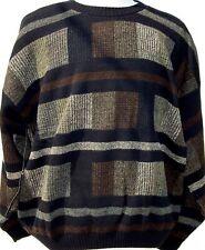 Sweaters - Crew Neck - Fancy - MultiColored - Protege #F - USA -2X-BIG
