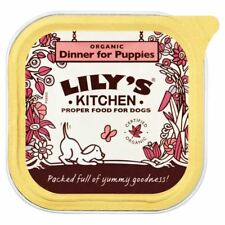 Lily's Kitchen Organic Dinner for Puppies - Foil Tray (150g) - Pack of 2